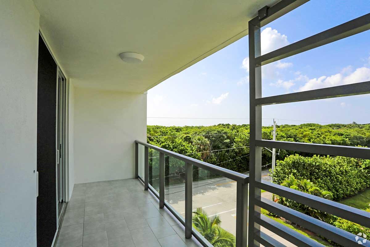 View from 601 N Ocean Balcony